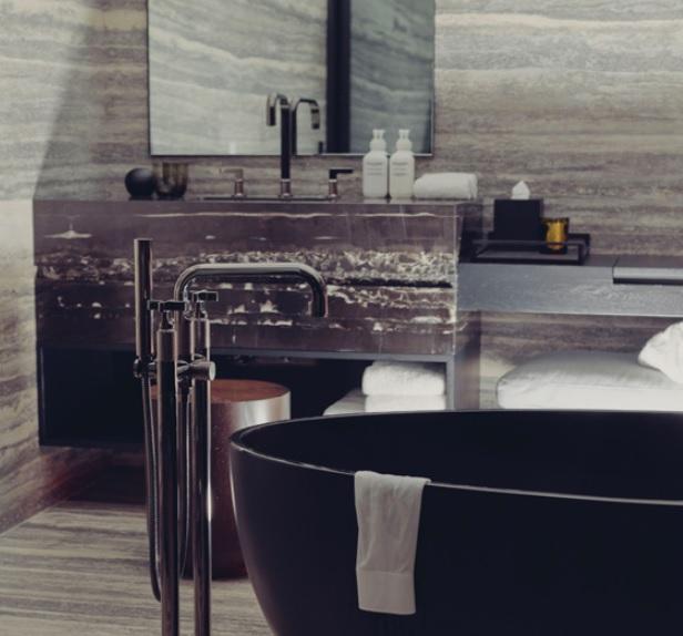 equinox hotel bathroom