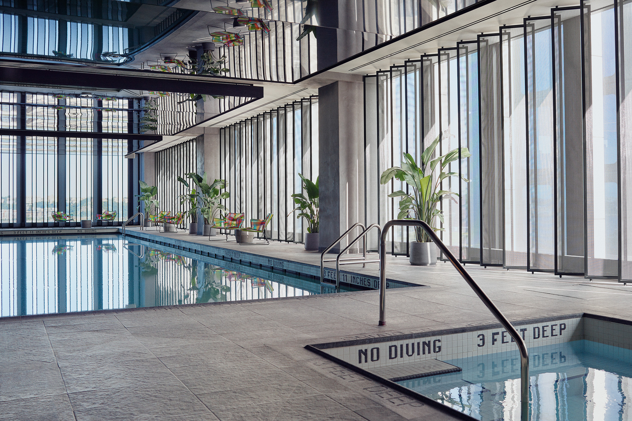 equinox indoor pool