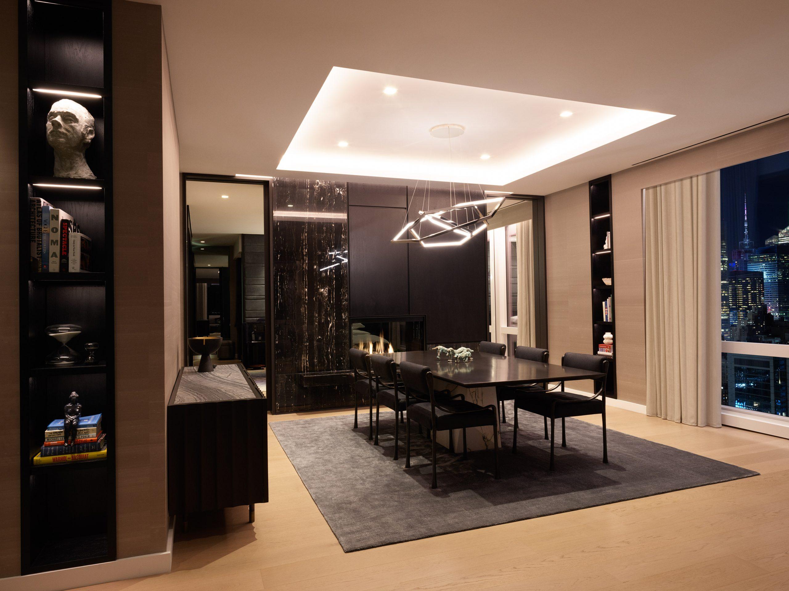 equinox suite dining room