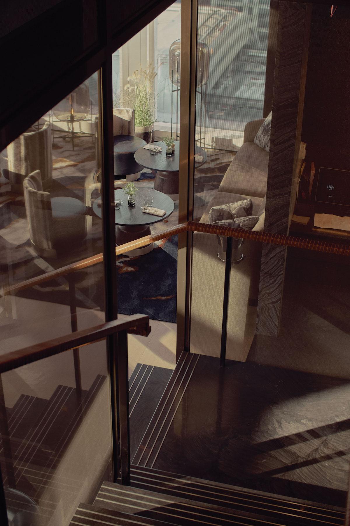 <equinox hotel stairs