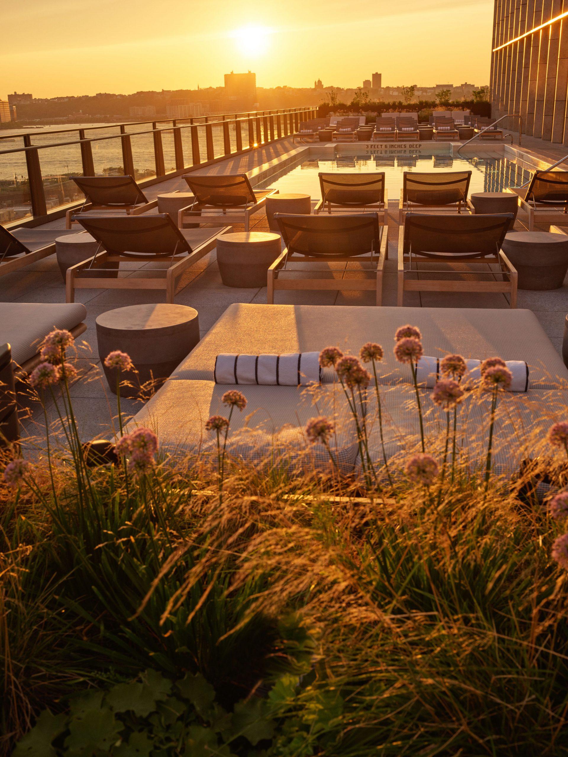 <outdoor pool equinox hotel
