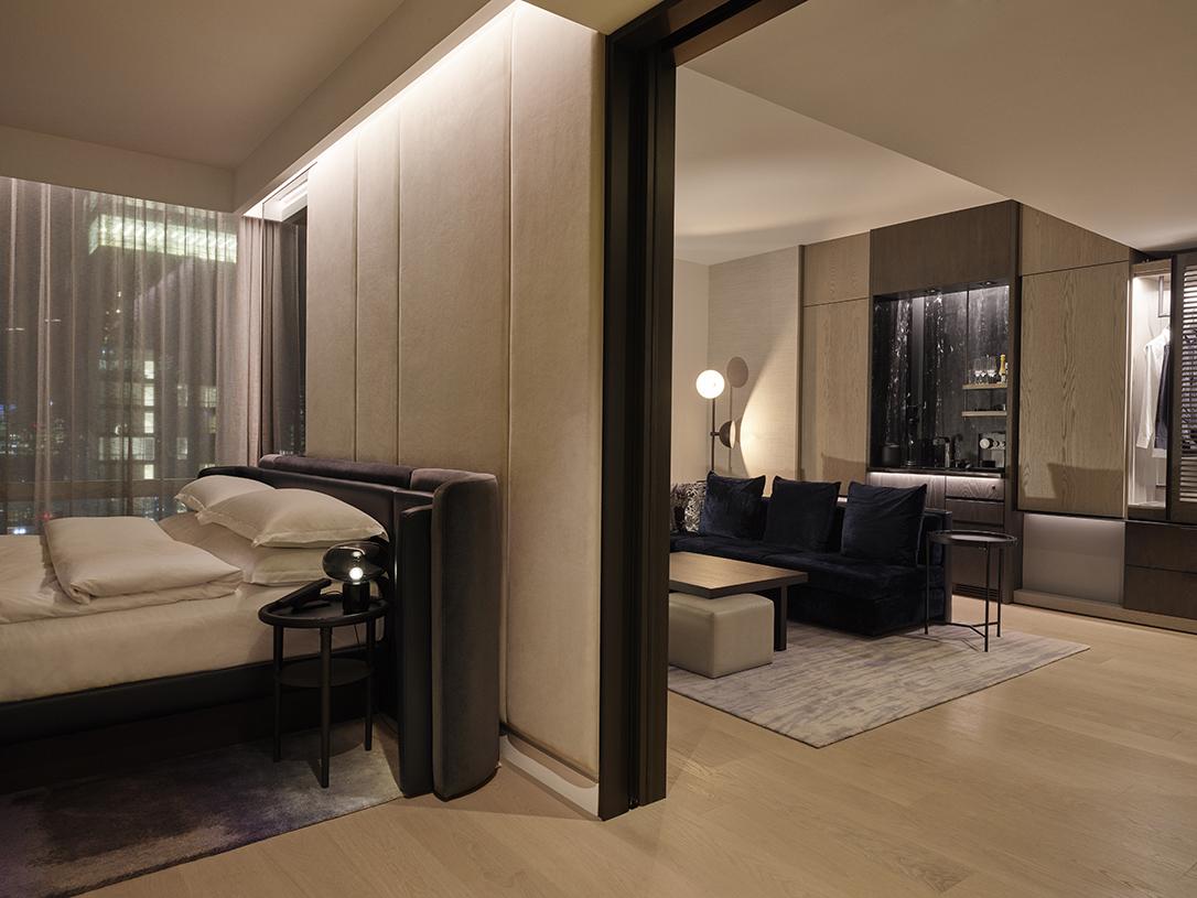 deluxe room floor plan