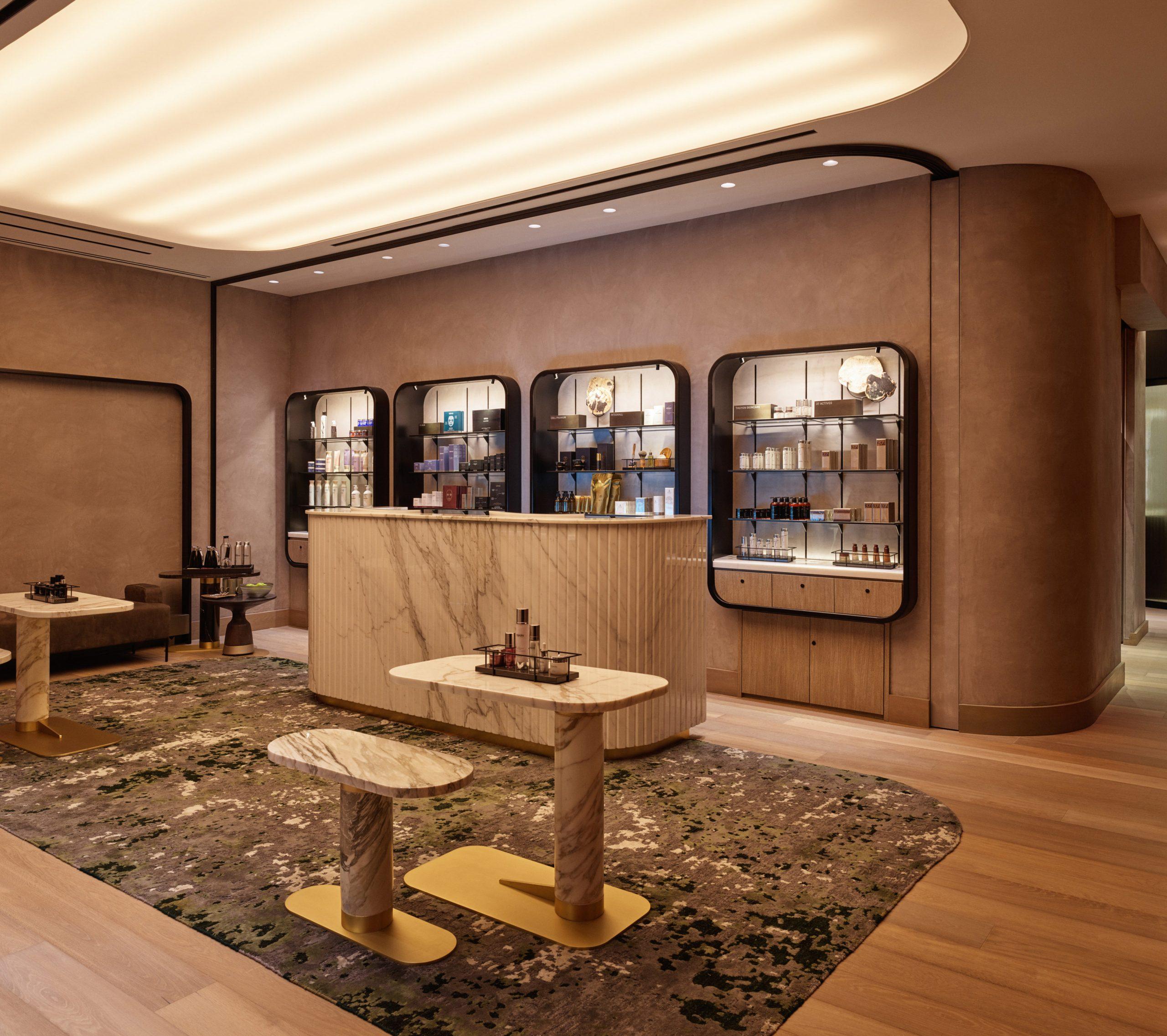 equinox hotel spa reception