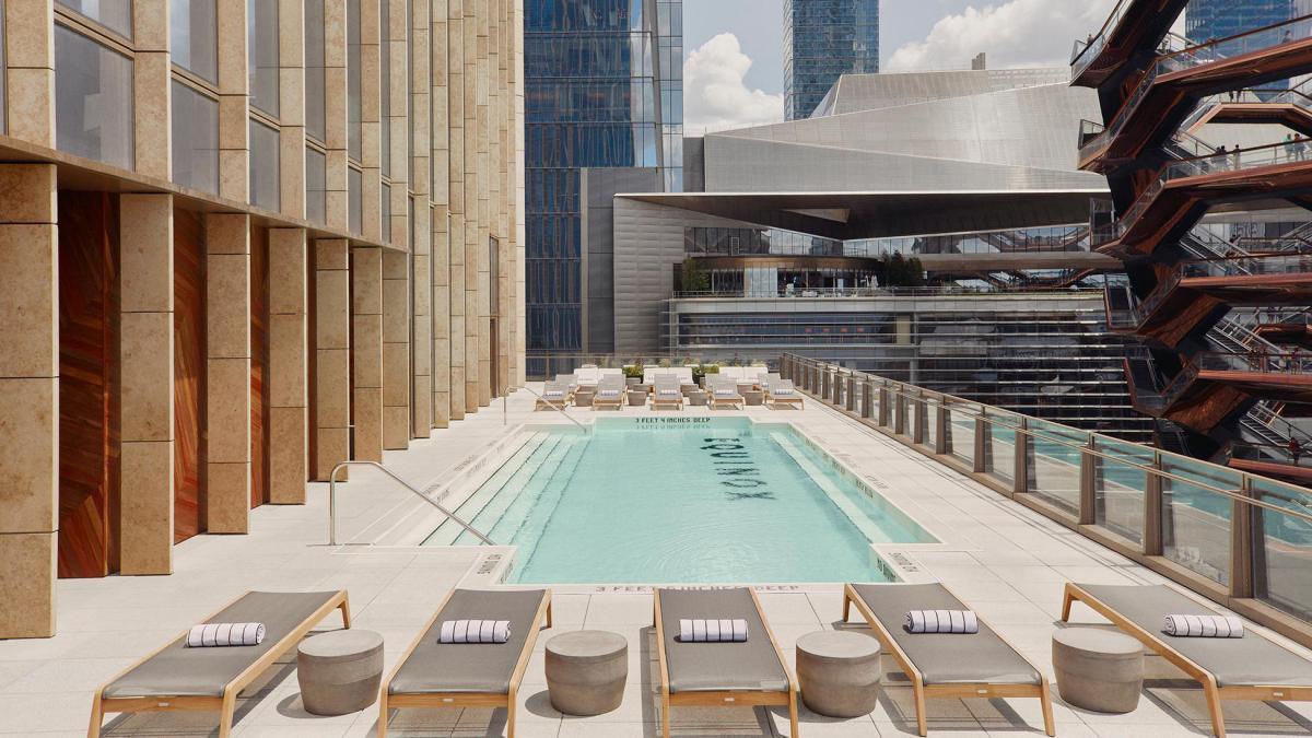 equinox outdoor pool